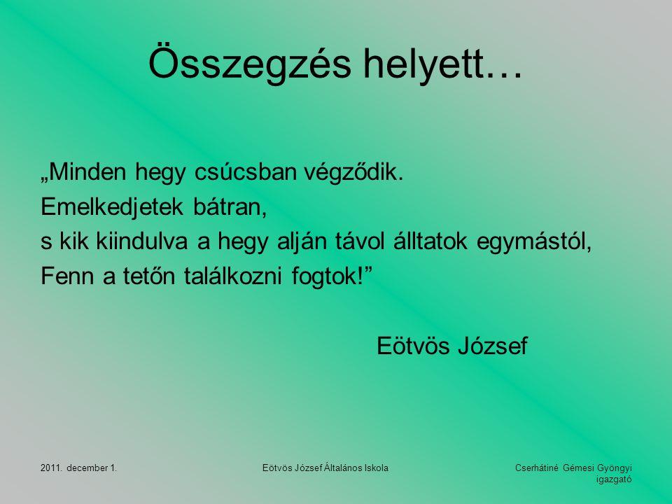Eötvös József Általános Iskola