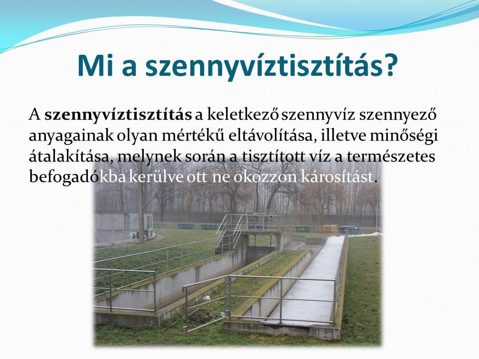 Mi a szennyvíztisztítás