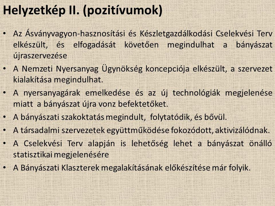 Helyzetkép II. (pozitívumok)