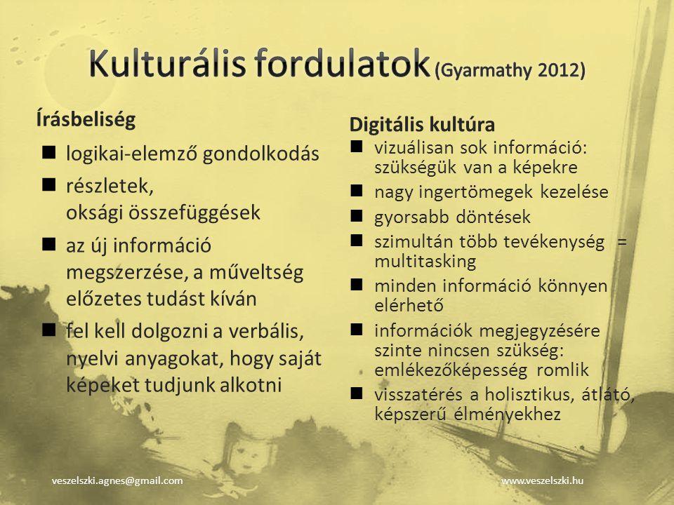Kulturális fordulatok (Gyarmathy 2012)