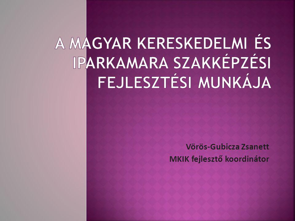 A Magyar Kereskedelmi és Iparkamara szakképzési fejlesztési munkája