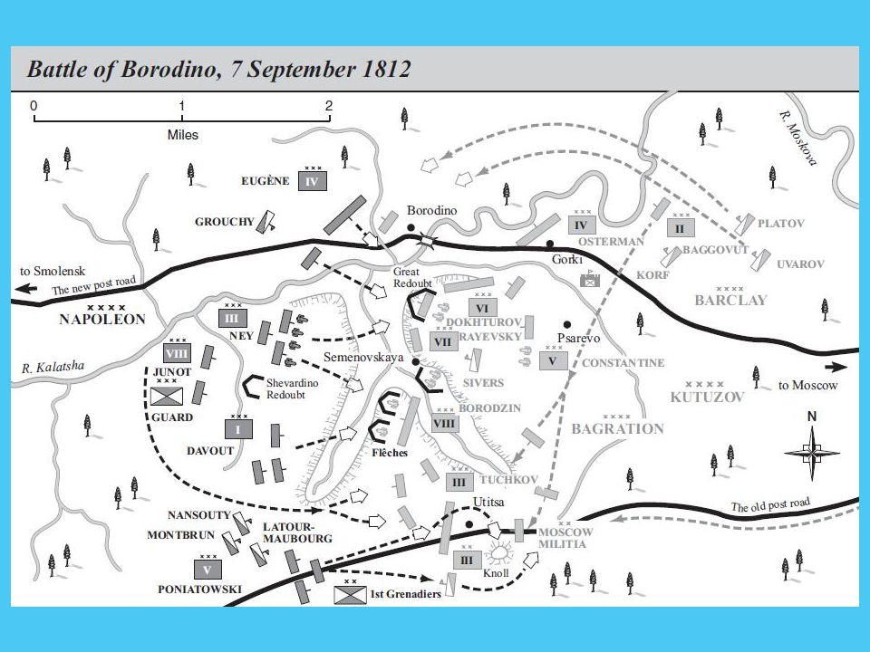 Borogyinói csata 1812.09.07. Kontinentális zárlat megszegése