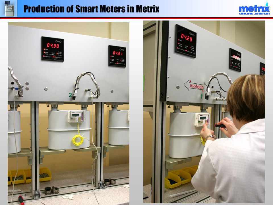 Production of Smart Meters in Metrix