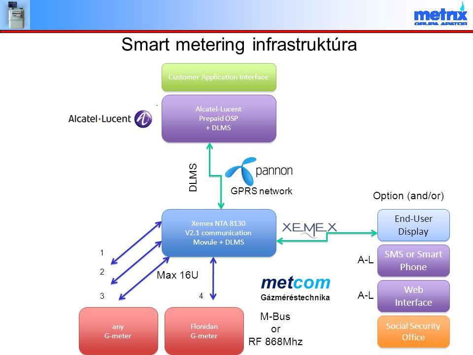 Smart metering infrastruktúra