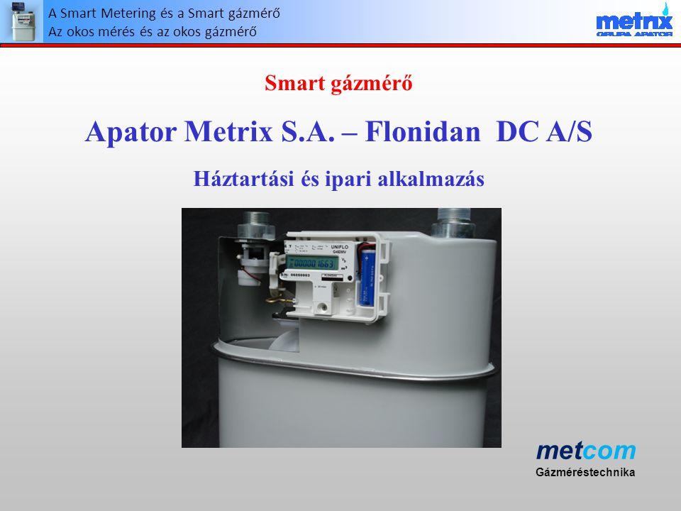 Apator Metrix S.A. – Flonidan DC A/S Háztartási és ipari alkalmazás