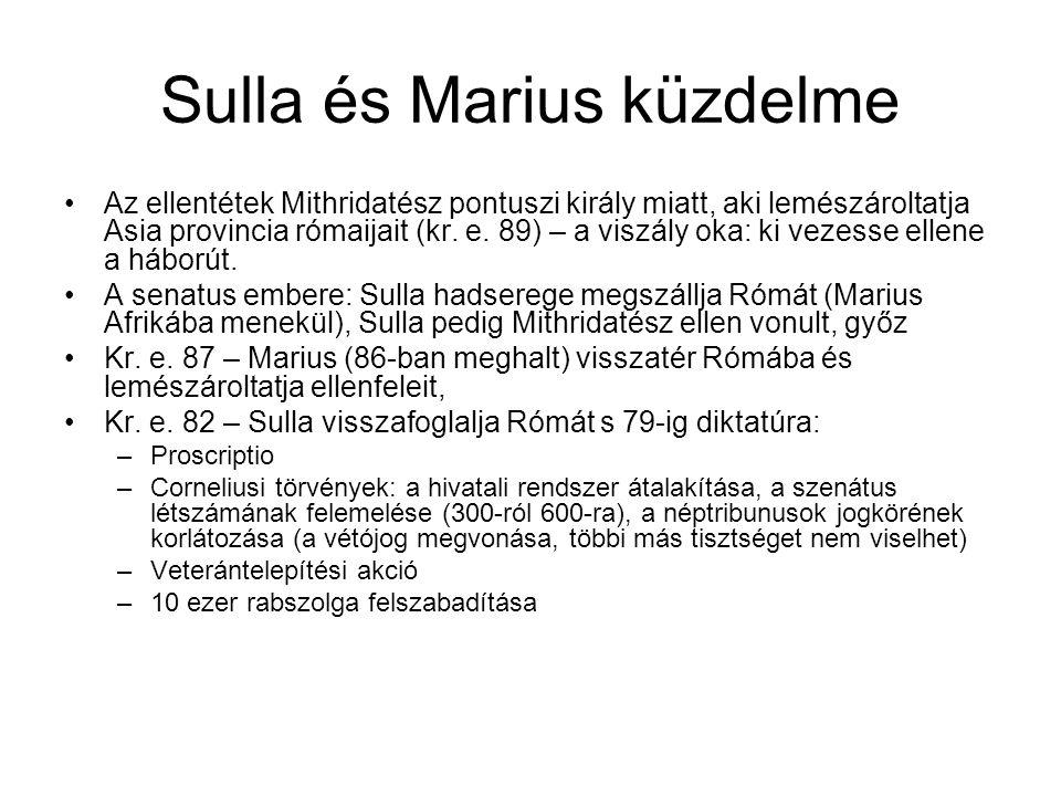 Sulla és Marius küzdelme