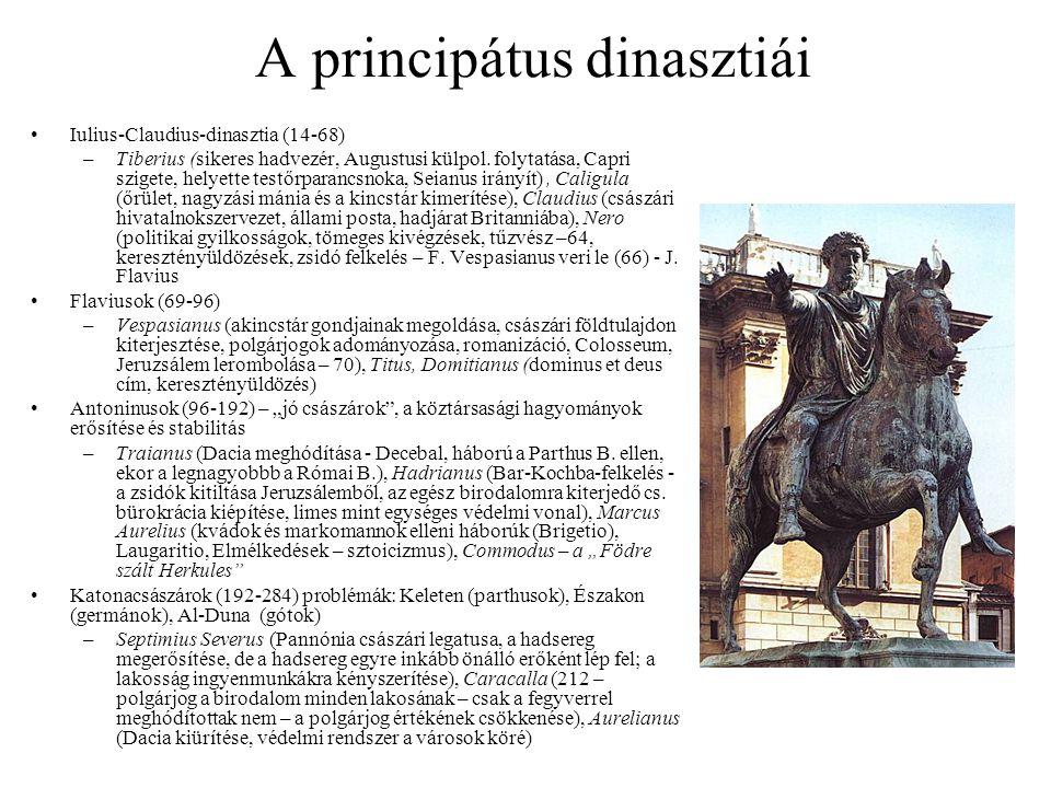 A principátus dinasztiái