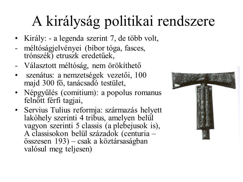 A királyság politikai rendszere