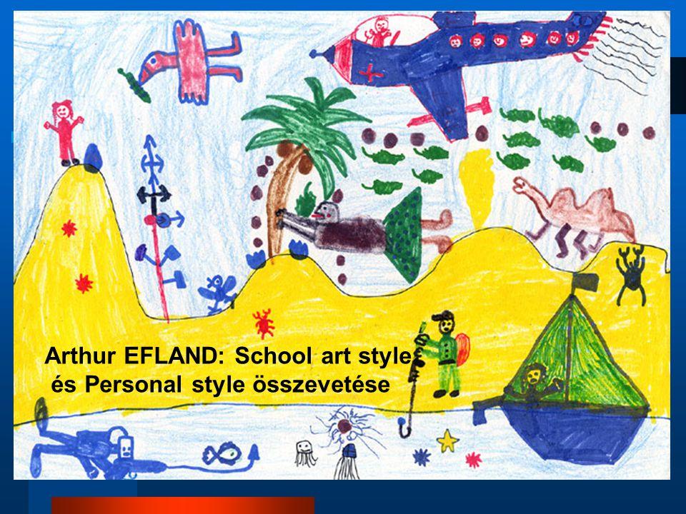 Arthur EFLAND: School art style