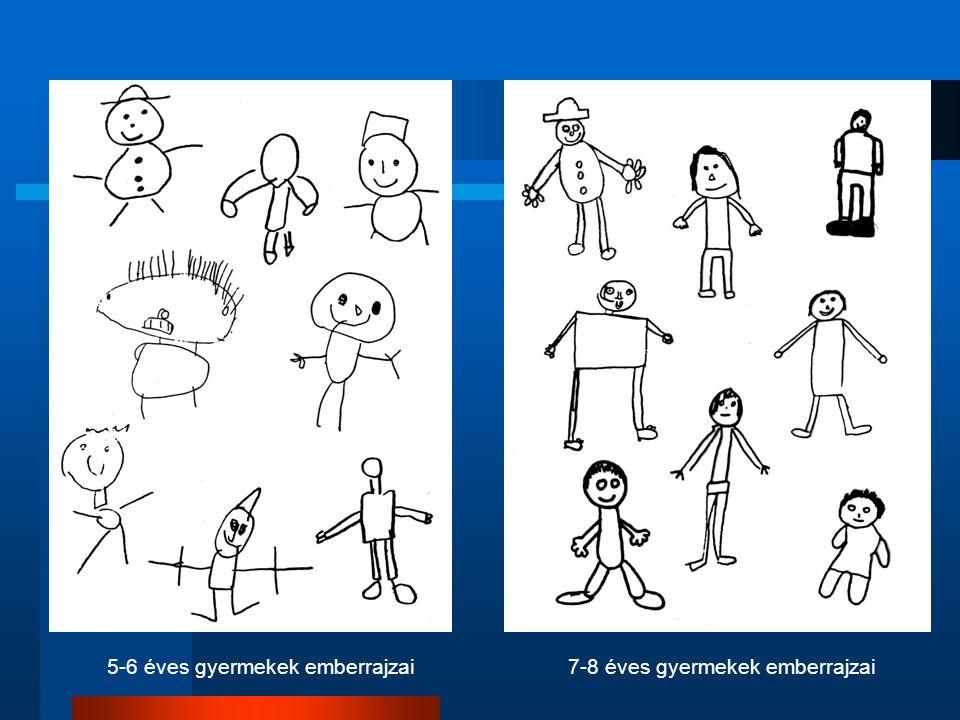 5-6 éves gyermekek emberrajzai