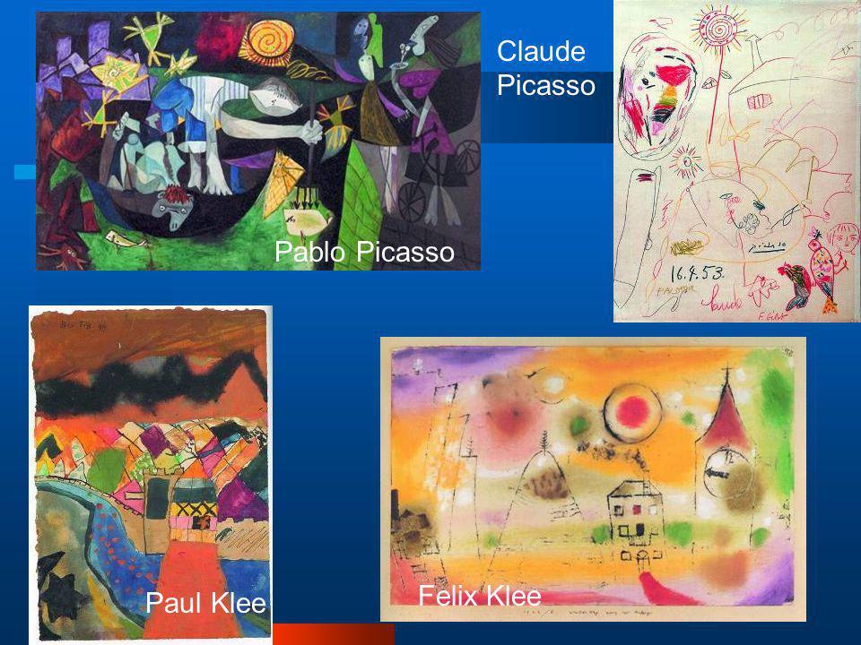 Claude Picasso Pablo Picasso Felix Klee Paul Klee