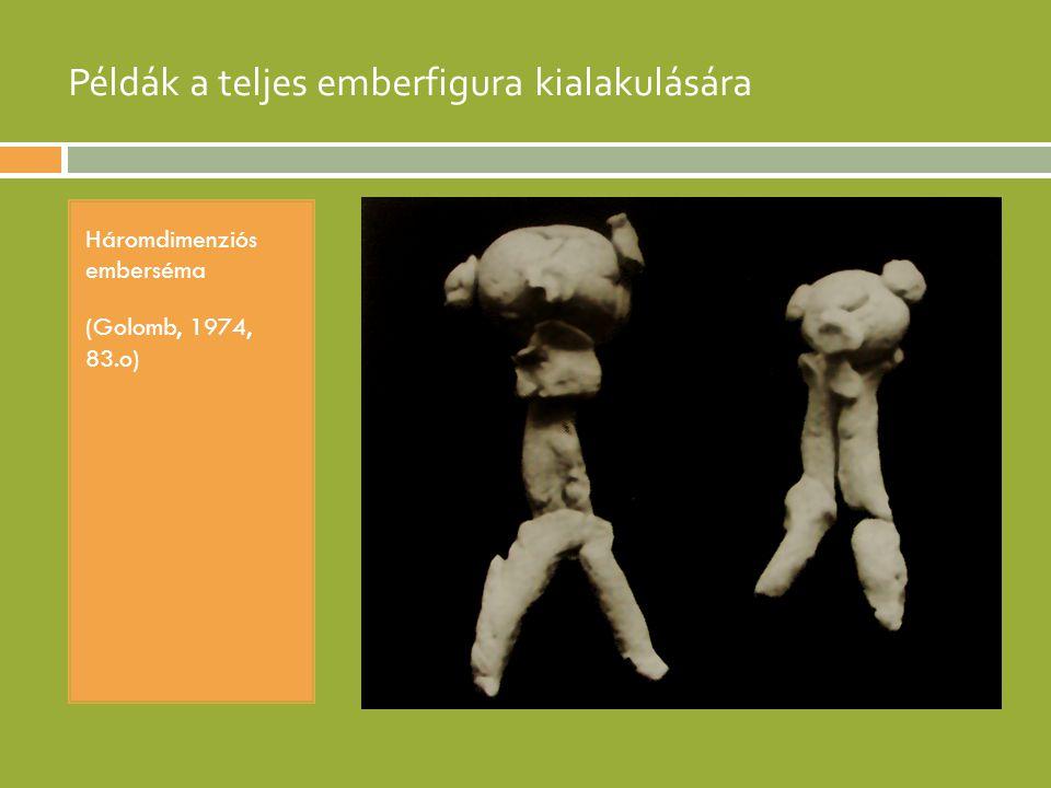 Példák a teljes emberfigura kialakulására