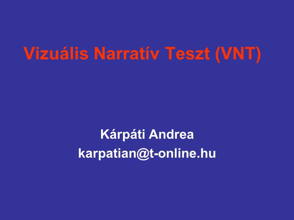 Vizuális Narratív Teszt (VNT)