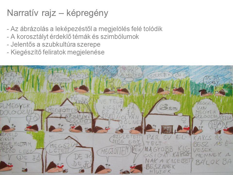 Narratív rajz – képregény