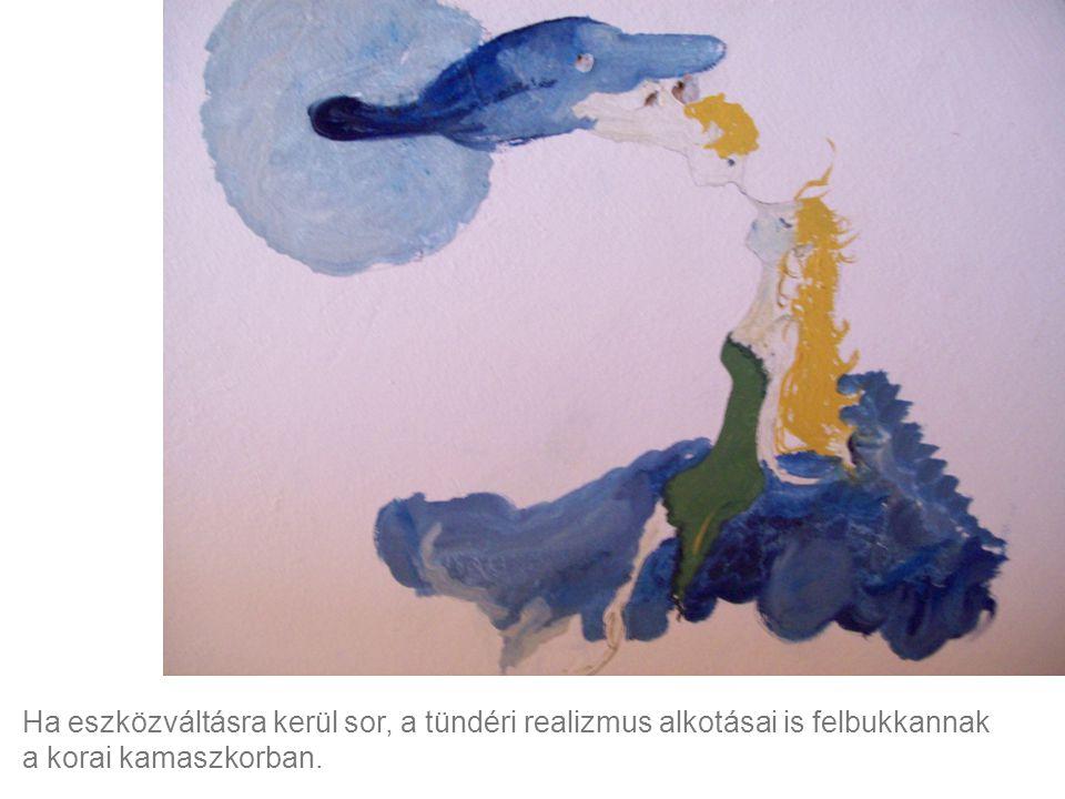 Erdélyi Luca 12 éves freskója szobája falán