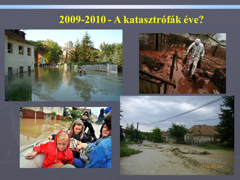 2009-2010 - A katasztrófák éve Tisztelt Hölgyeim és Uraim!