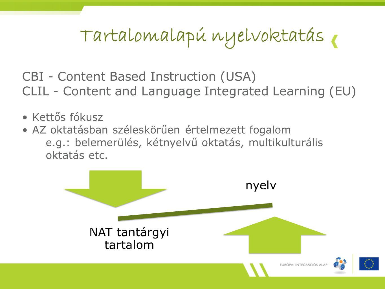 Tartalomalapú nyelvoktatás