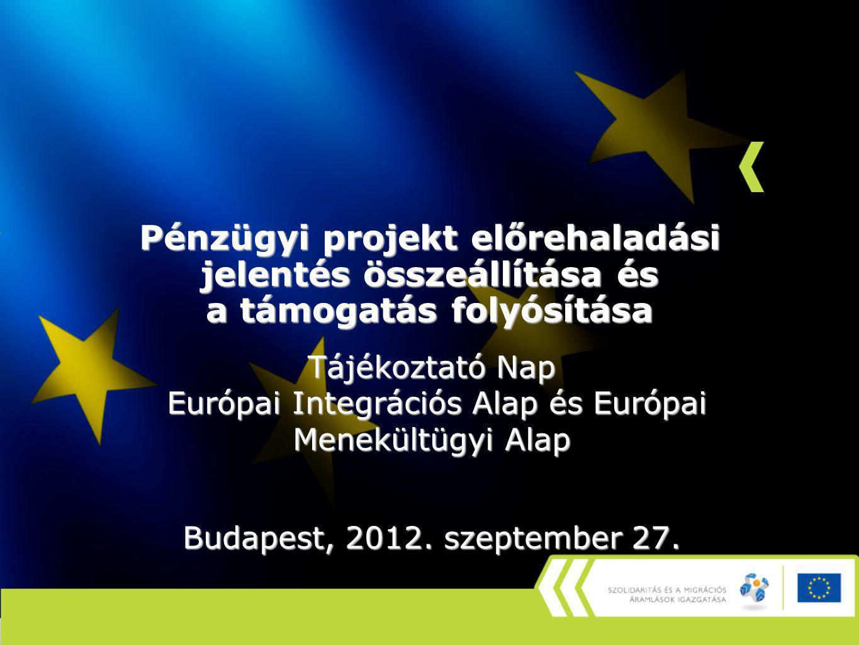 Európai Integrációs Alap és Európai Menekültügyi Alap