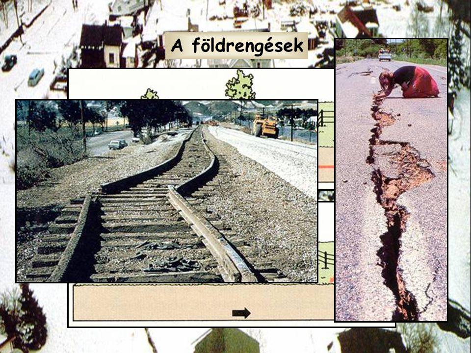 A földrengések