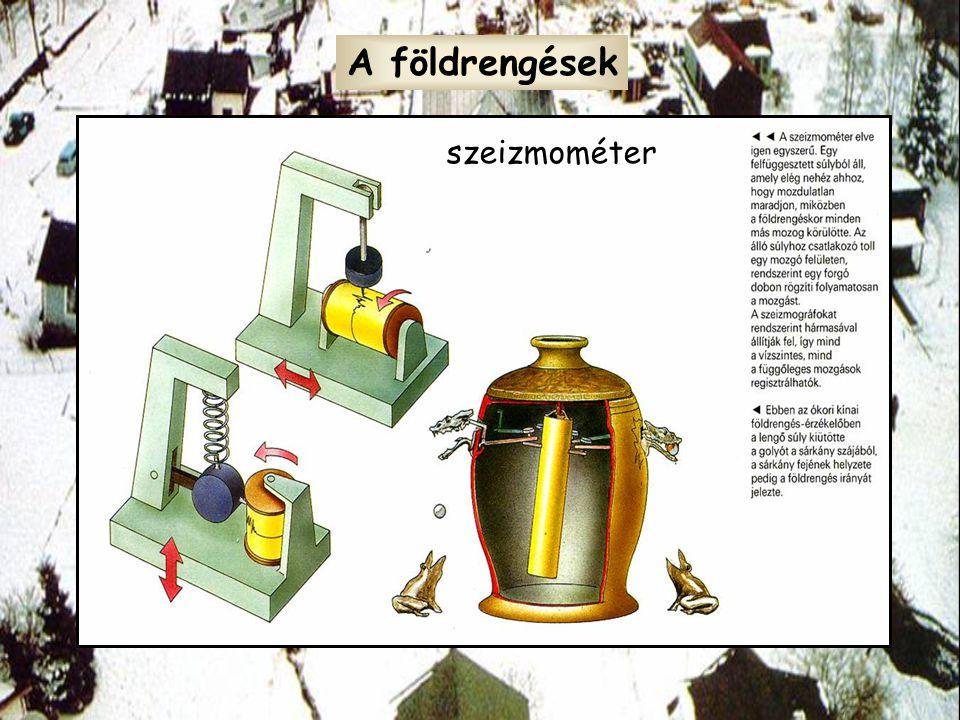 A földrengések szeizmométer