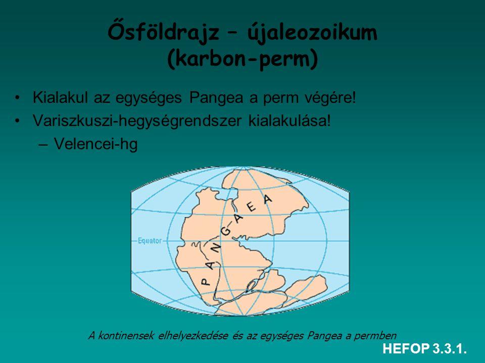 Ősföldrajz – újaleozoikum (karbon-perm)