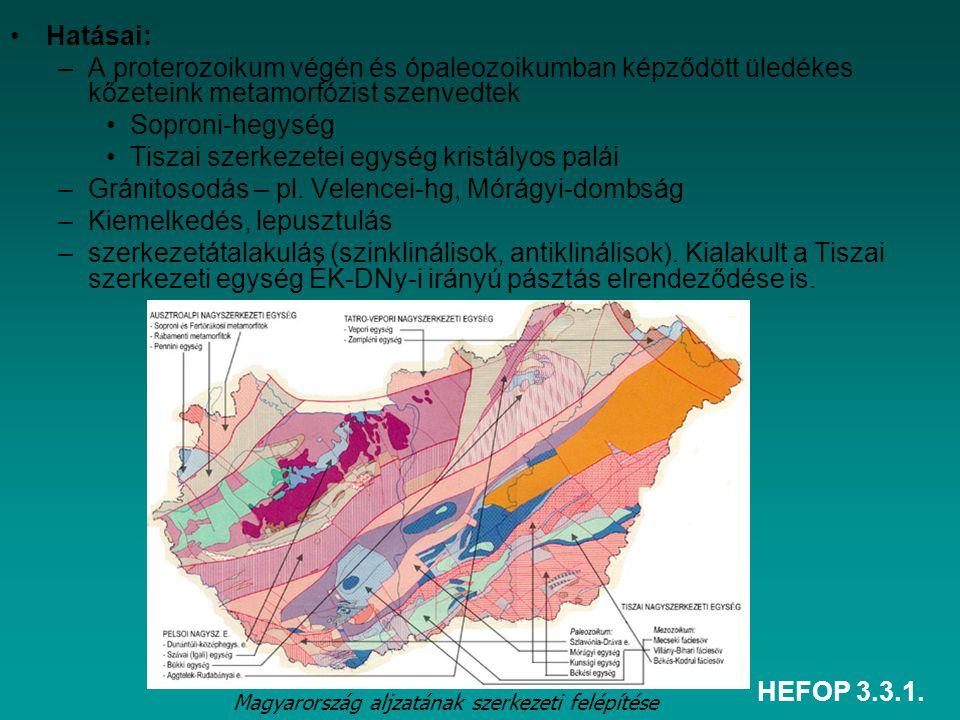 Tiszai szerkezetei egység kristályos palái