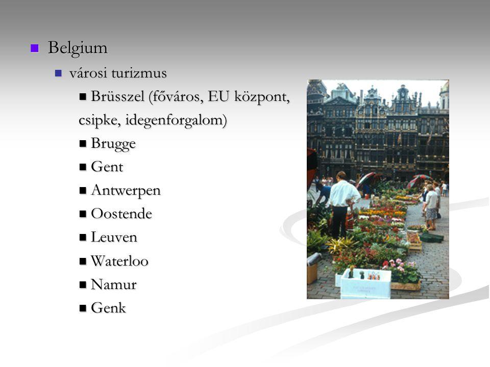 Belgium városi turizmus Brüsszel (főváros, EU központ,