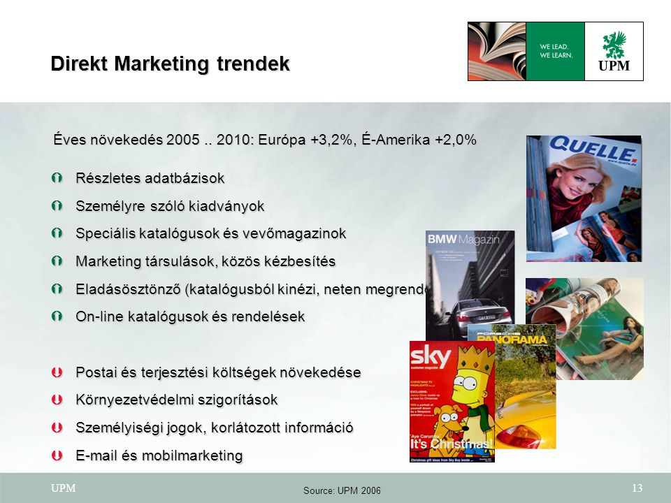Direkt Marketing trendek