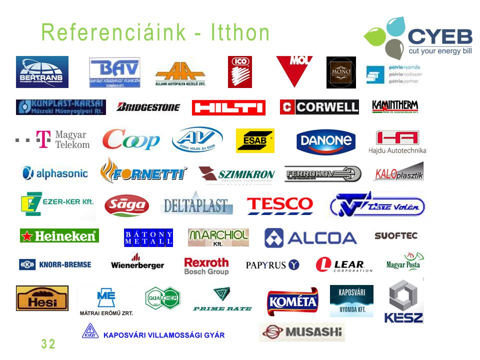 Referenciáink - Itthon