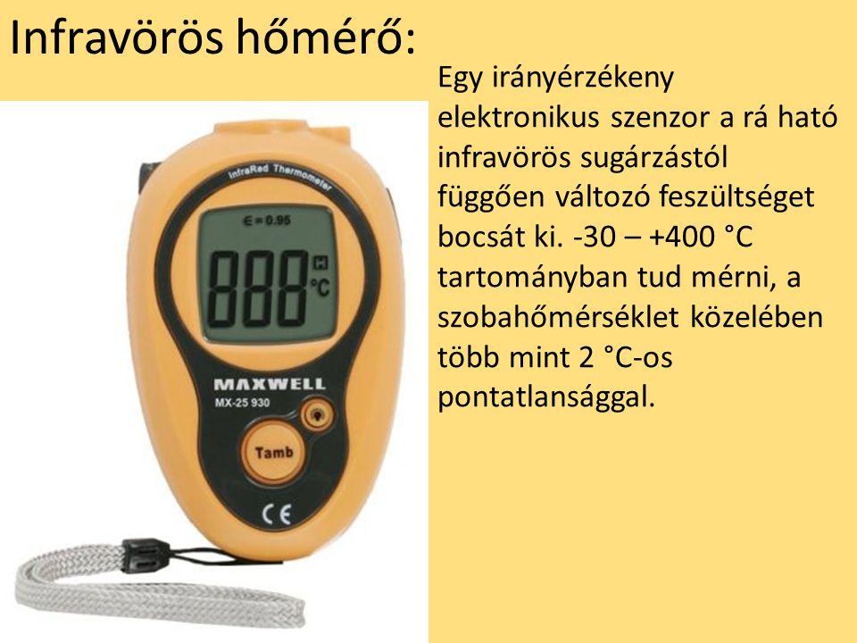 Infravörös hőmérő: