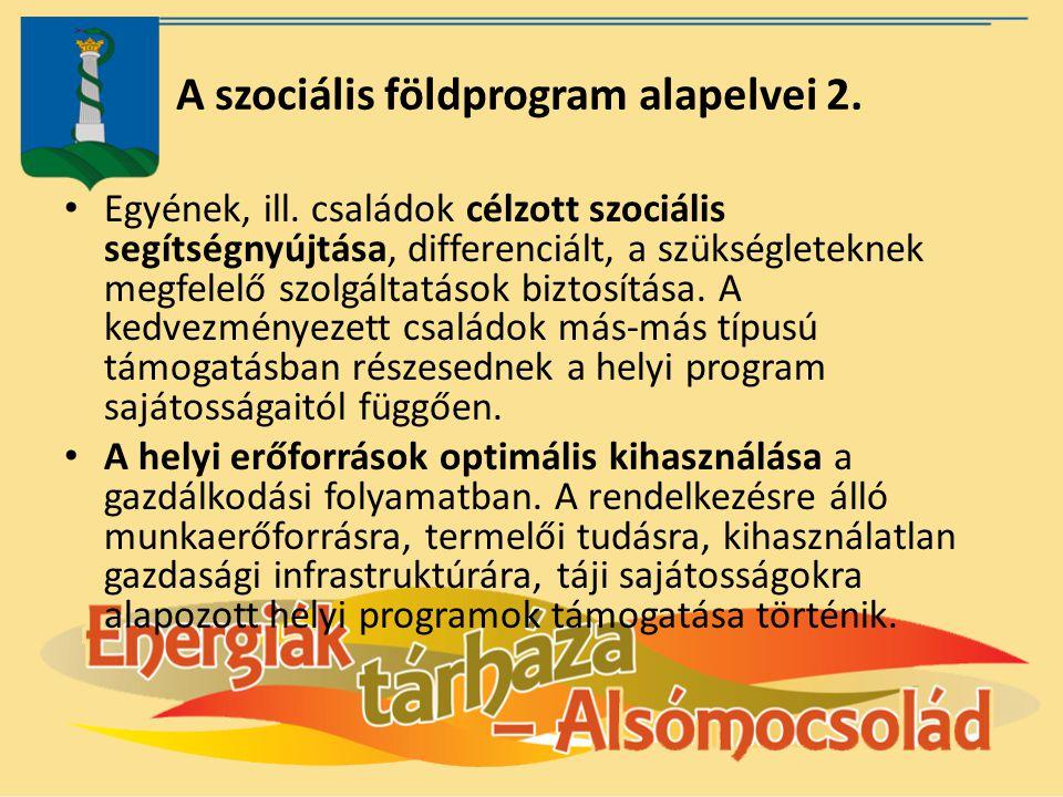 A szociális földprogram alapelvei 2.