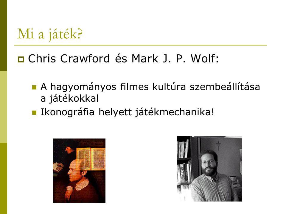 Mi a játék Chris Crawford és Mark J. P. Wolf: