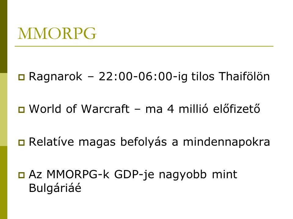 MMORPG Ragnarok – 22:00-06:00-ig tilos Thaifölön