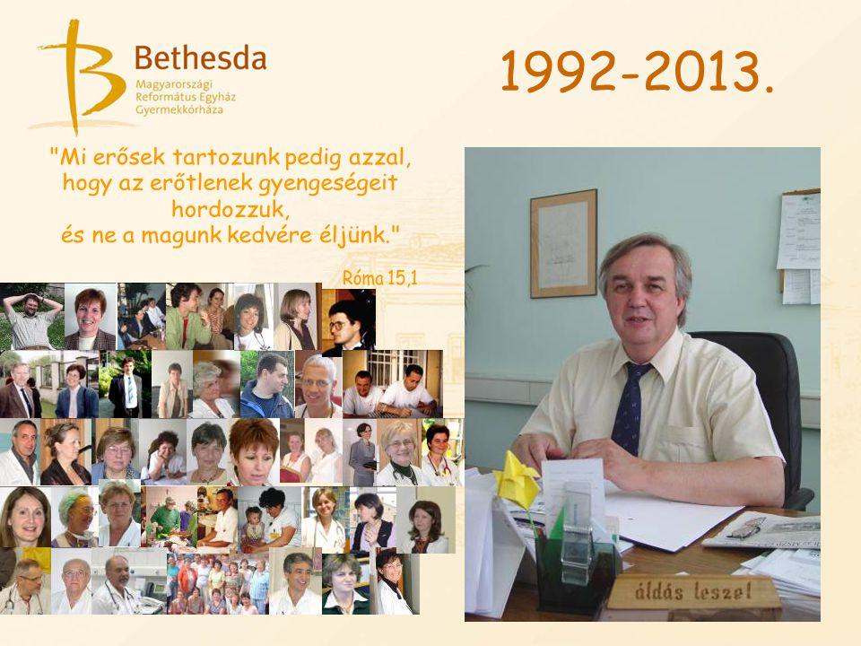 1992-2013. Mi erősek tartozunk pedig azzal,