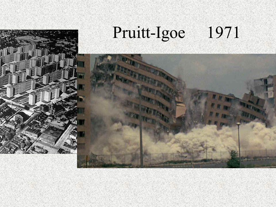 Pruitt-Igoe 1971