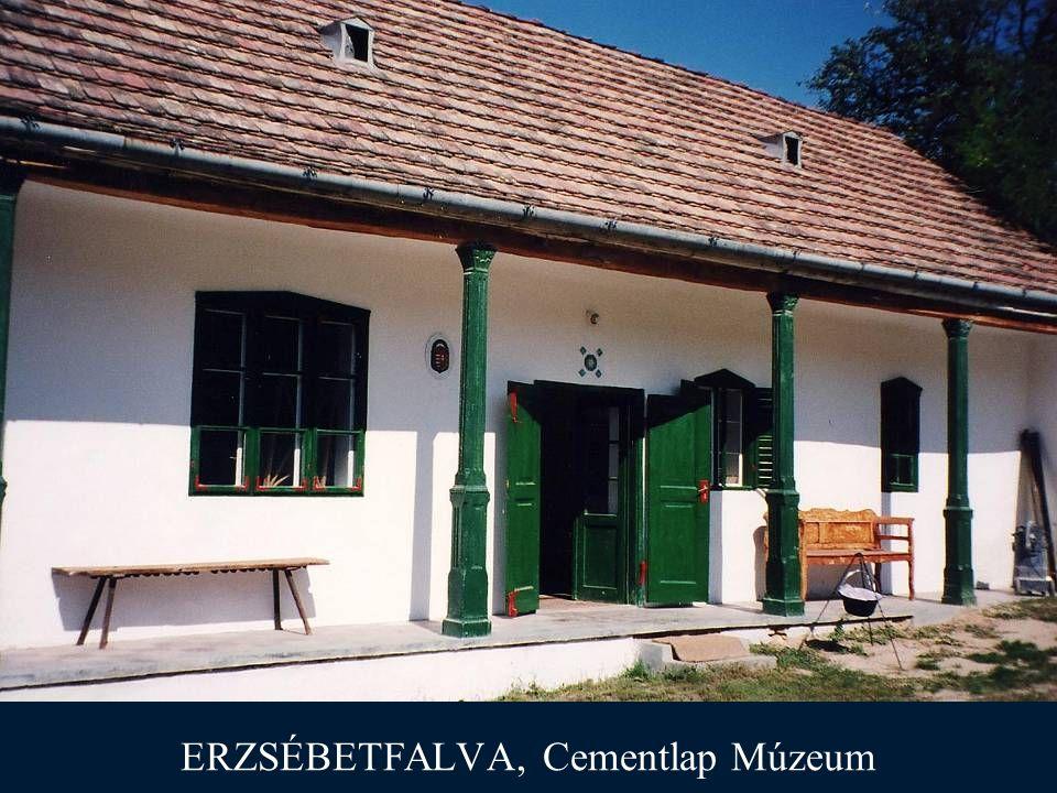 ERZSÉBETFALVA, Cementlap Múzeum