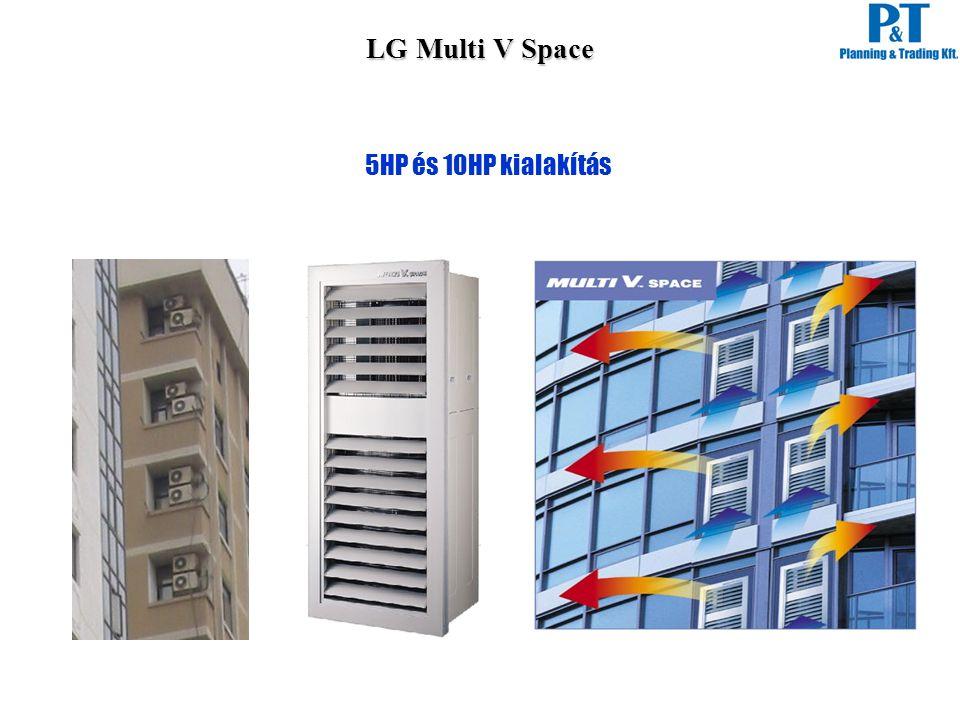 LG Multi V Space 5HP és 10HP kialakítás