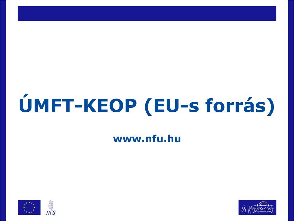 ÚMFT-KEOP (EU-s forrás)