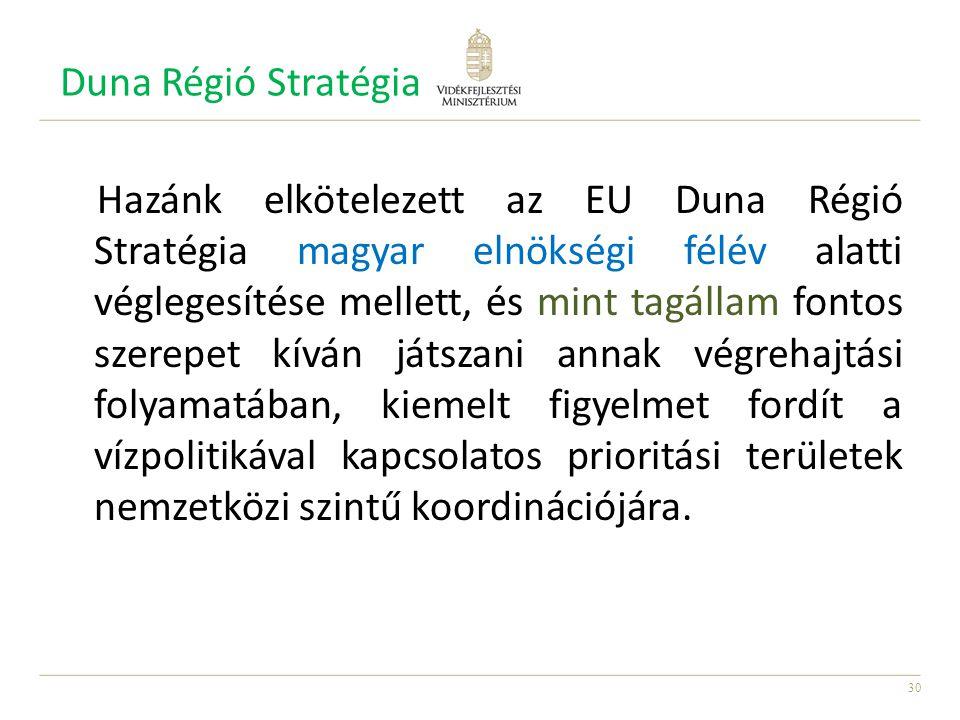 Duna Régió Stratégia