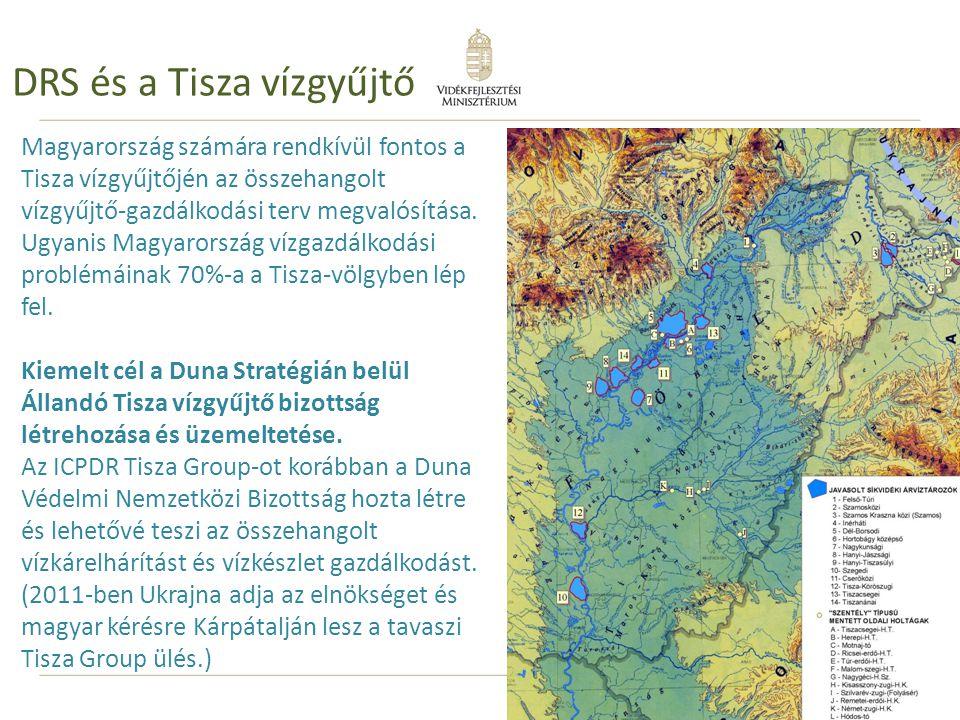 DRS és a Tisza vízgyűjtő