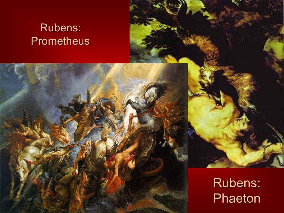 Rubens: Prometheus Rubens: Phaeton