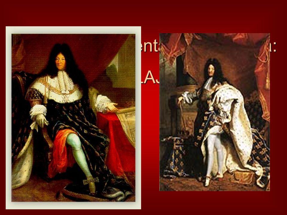 A barokk reprezentáns uralkodója: