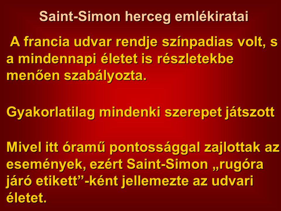 Saint-Simon herceg emlékiratai