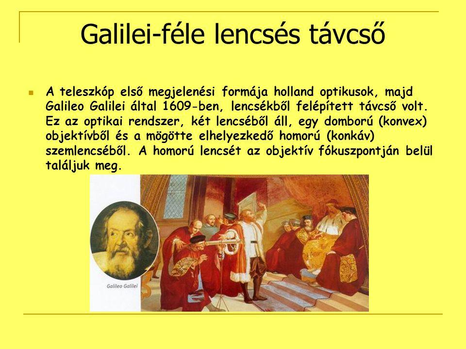 Galilei-féle lencsés távcső