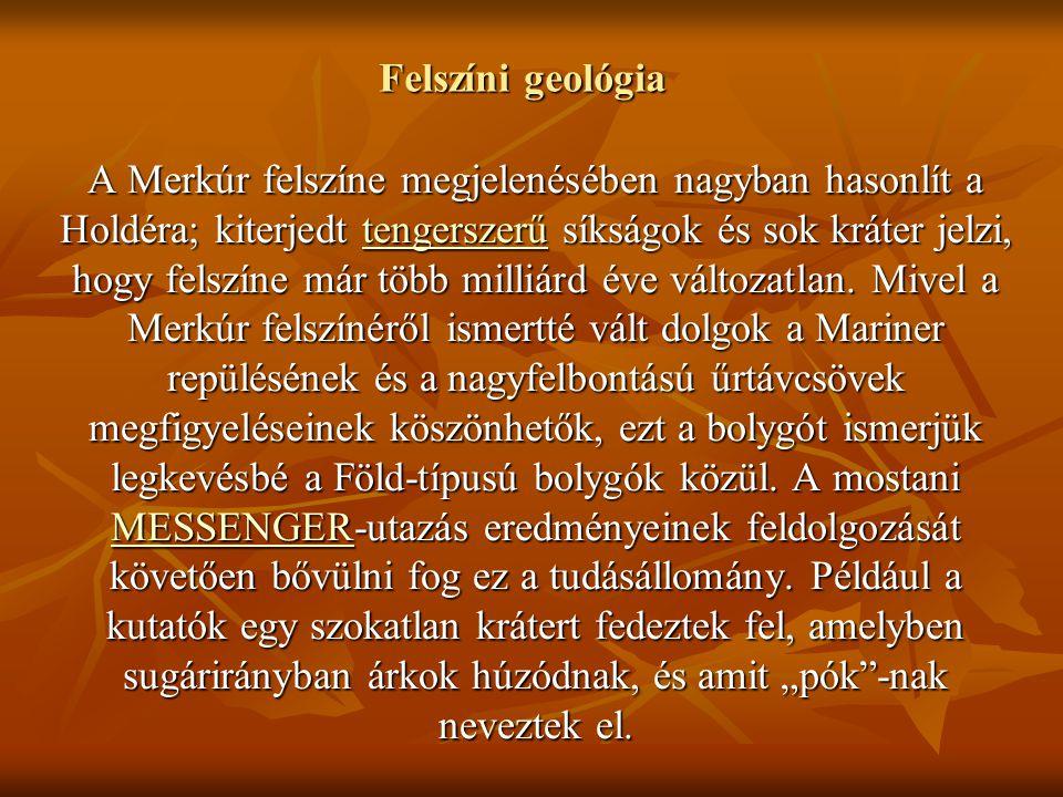 Felszíni geológia