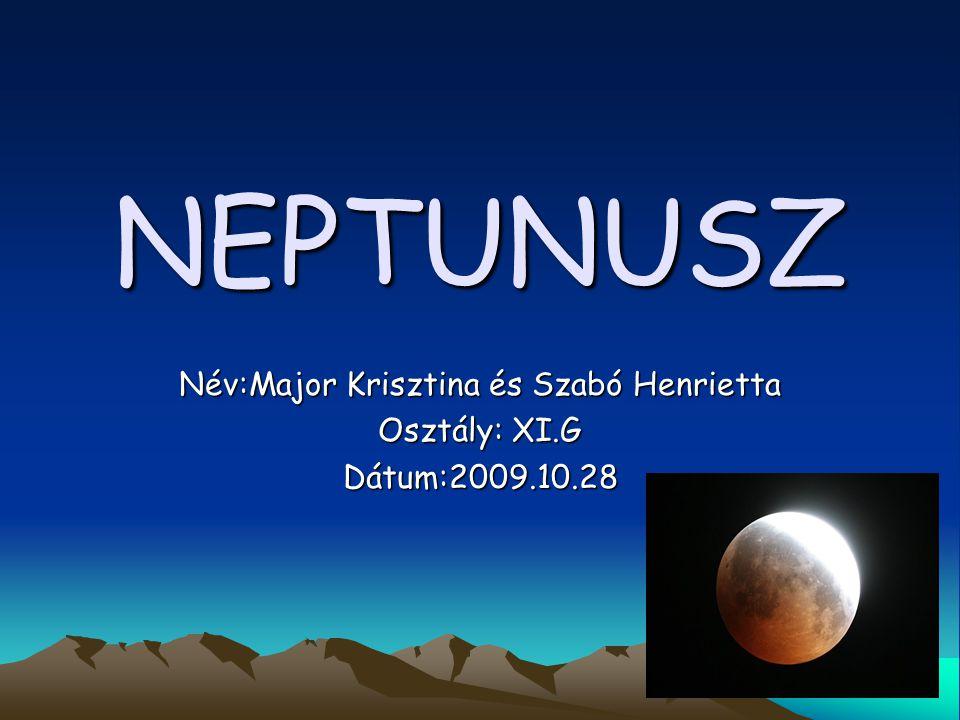 Név:Major Krisztina és Szabó Henrietta Osztály: XI.G Dátum:2009.10.28