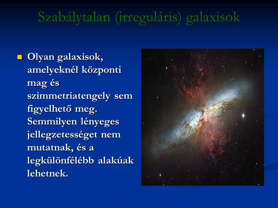 Szabálytalan (irreguláris) galaxisok