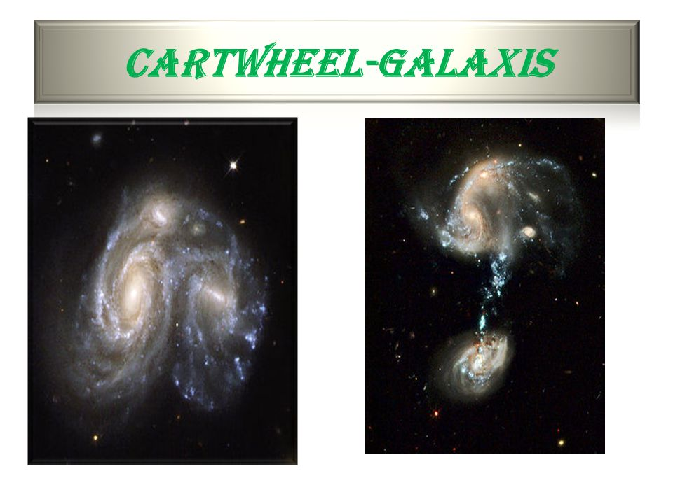 Cartwheel-galaxis