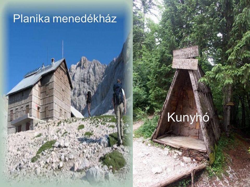 Planika menedékház Kunyhó