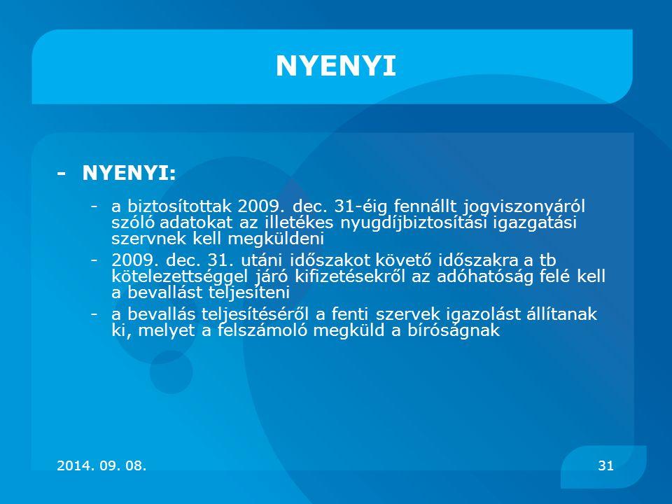 NYENYI - NYENYI: